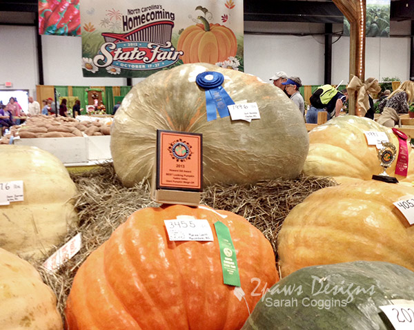NC State Fair 2013: Pumpkins