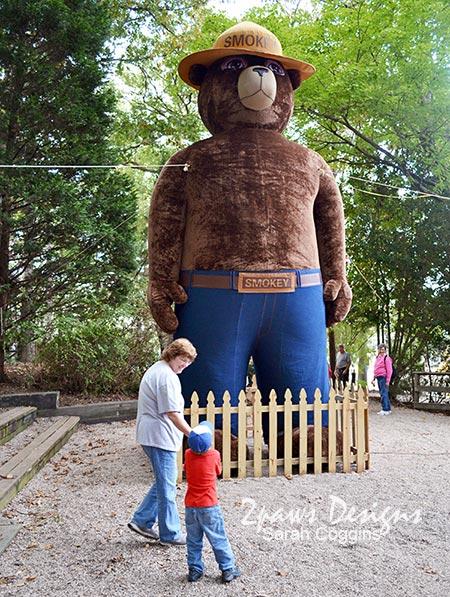 NC State Fair 2013: Smokey-Bear