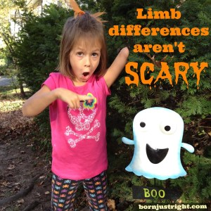 Limb Differences Aren't Scary