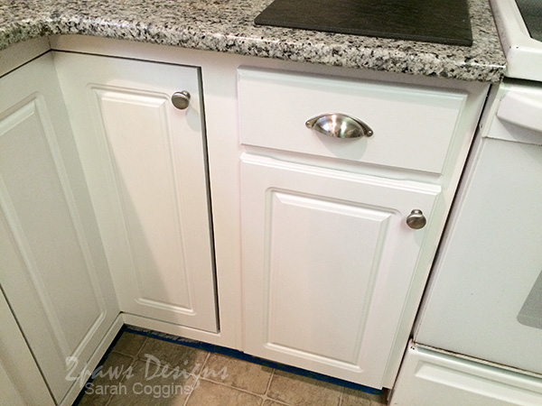 Project Kitchen: Painting Cabinets Part 1