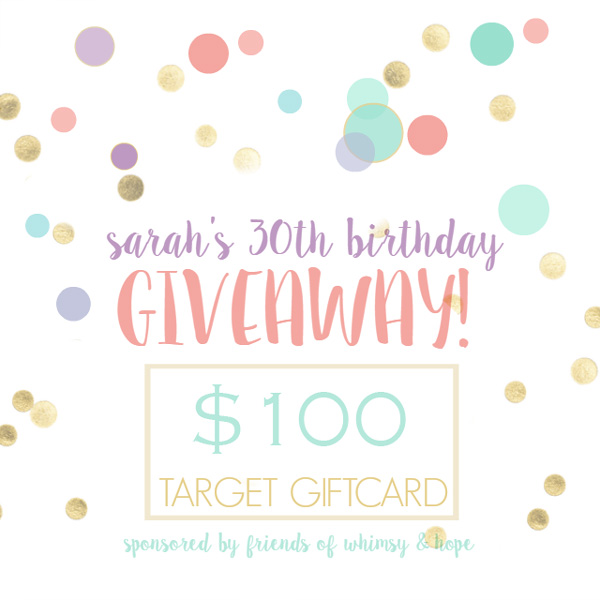 Target Gift Card Giveaway {Ended}