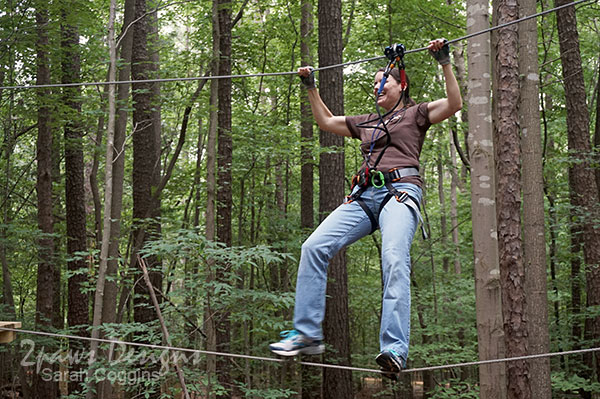 Go Ape Raleigh: Date Night + Blogger Meetup