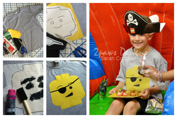 Lego Pirate Party: Shirt