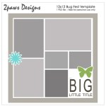 2paws Designs: Bug Fest 12x12 digital scrapbooking template