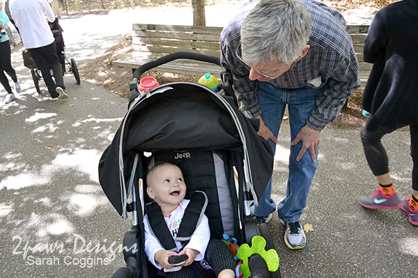Elise First Birthday Laughs with Grandpa