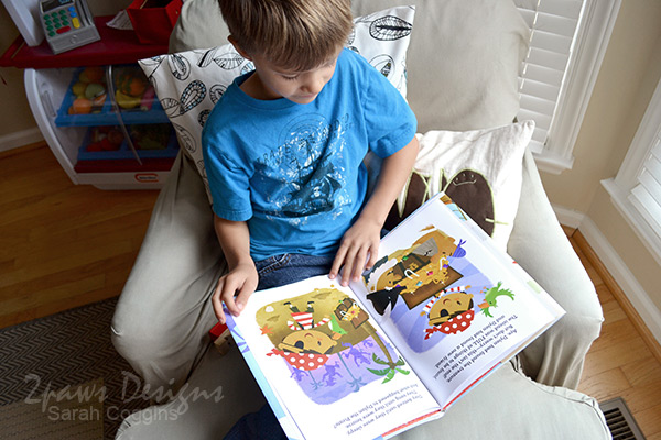 Hallmark Personalized Books Review: Reading #LoveHallmark