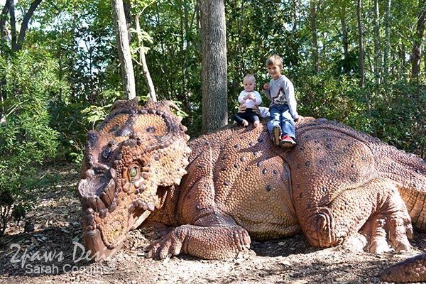 NC Zoo: Dino World 2015