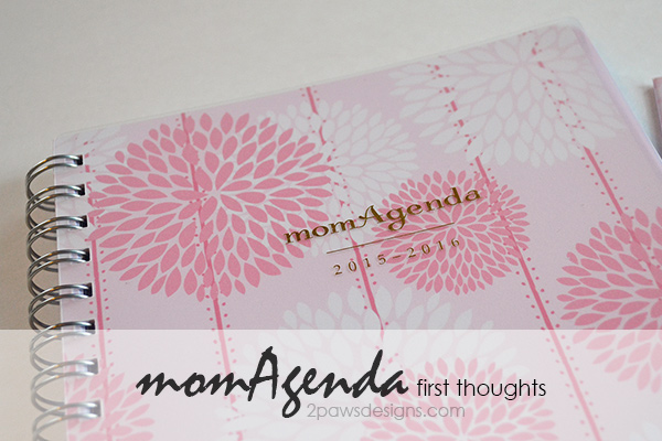 momAgenda Planner Review: First Thoughts