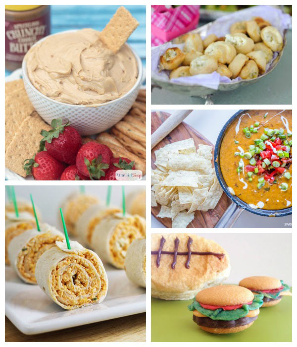 Dream Create Inspire: Football Party Snacks