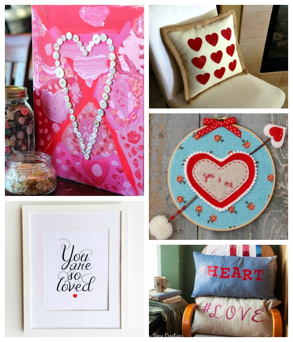 Dream Create Inspire: Valentine's Day Decor