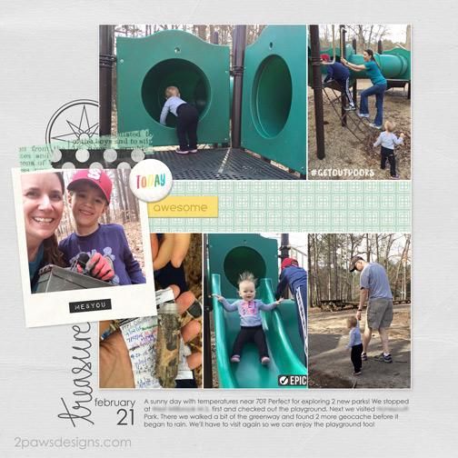 Playground & Geocaching