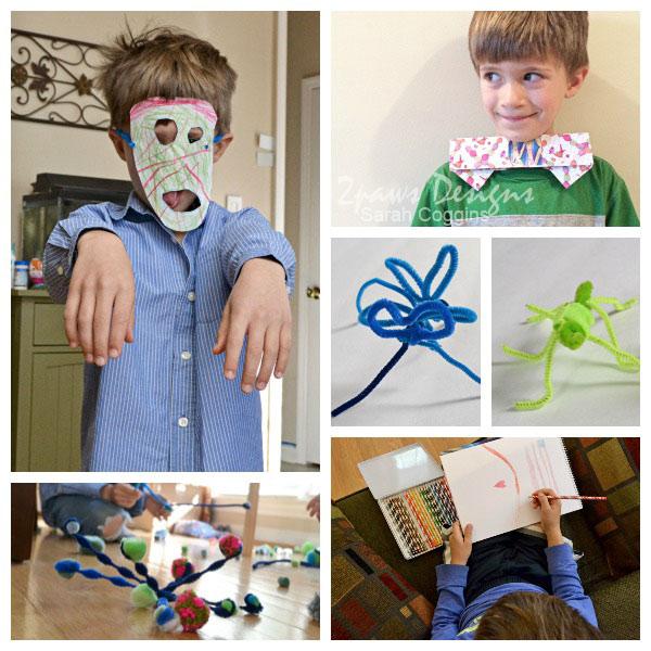 Imaginative Creations with eeBoo Craft Supplies