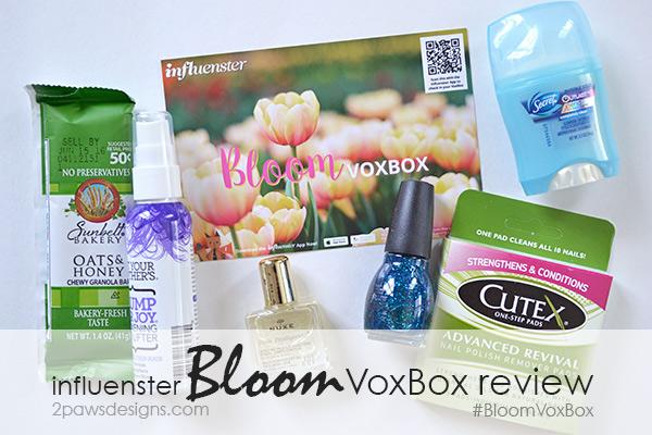 Influenster Bloom VoxBox