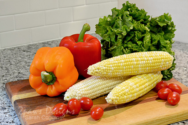 Fresh Summer Salad Recipe: Ingredients