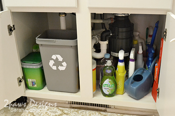 Project Kitchen: Under Sink Organization