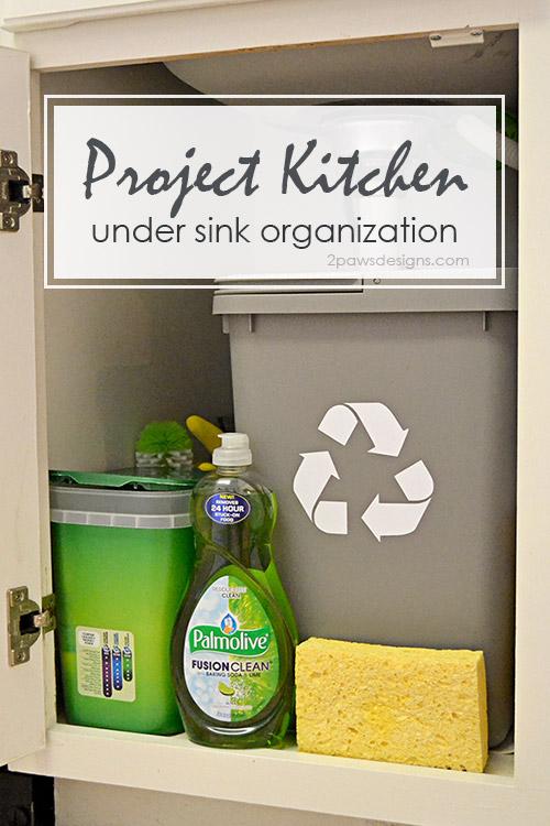 Project Kitchen: Under Sink Organization