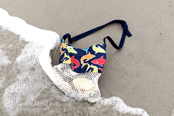 DIY Seashell & Beach Treasures Collecting Bag