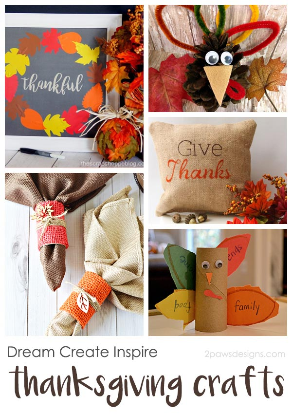 Dream Create Inspire: Thanksgiving Crafts