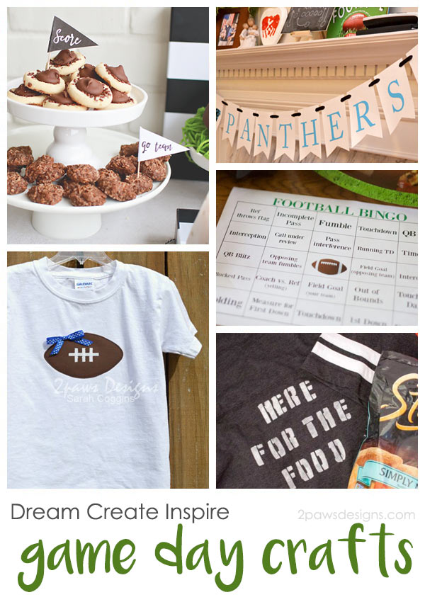 Dream Create Inspire: Game Day Crafts