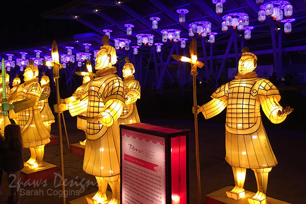 NC Chinese Lantern Festival: Terra Cotta Warriors