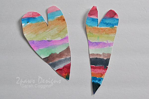 Rainbow Painted Valentines: Complete