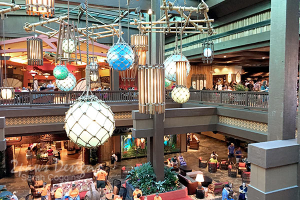 Disney's Polynesian Village Resort: Lobby