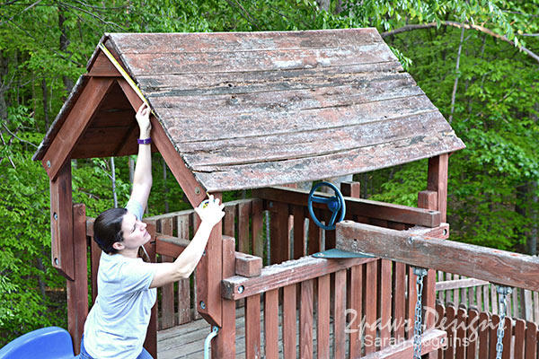 Playset: Measuring Old Roof
