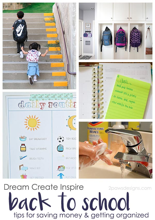 Dream Create Inspire: Back to School Tips