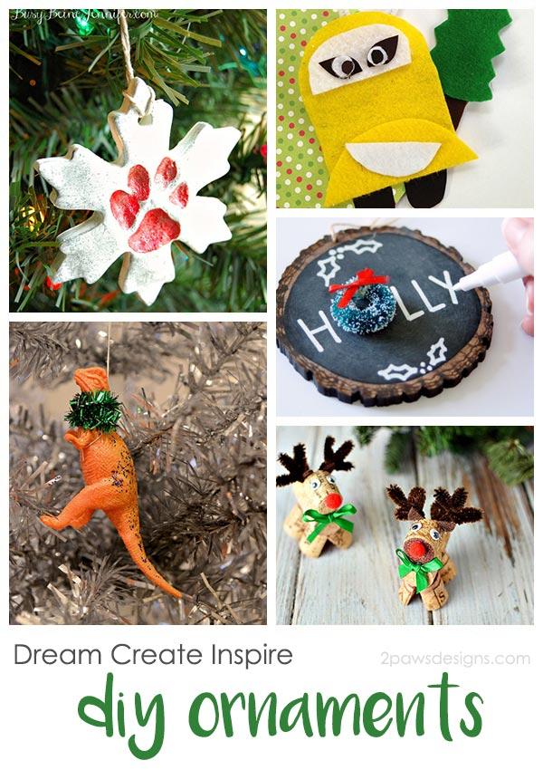 Dream Create Inspire: DIY Christmas Ornaments