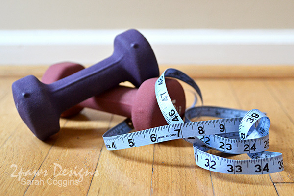 Healthier Year: Weights & Measuring Tape
