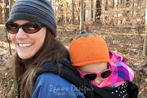 Umstead State Park Hike: Napping Toddler