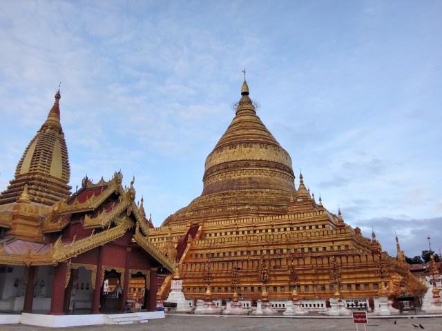 Shwezigon Pagoda.