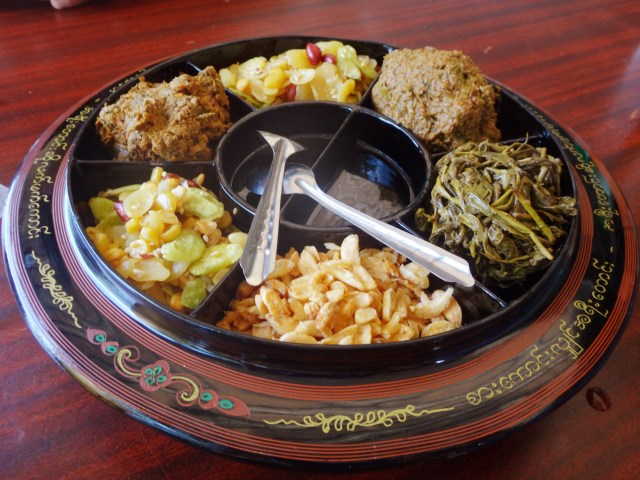 Tea leaf sampler.