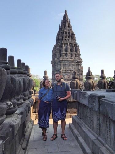 Hangin' out at Prambanan.