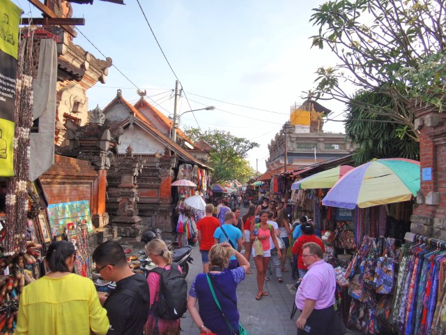 The Ubud Market.