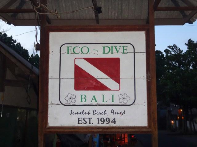 Eco Dive Bali.