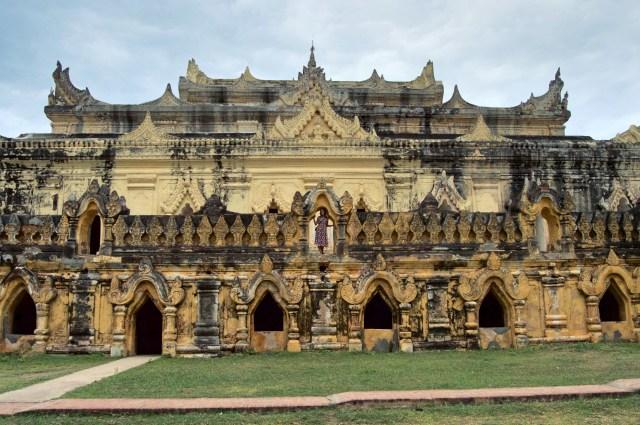 The brick monastery.