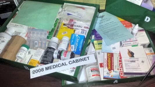 Outback medical kit.