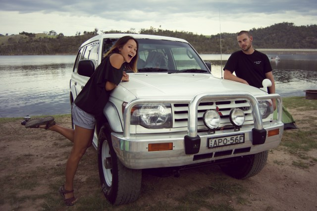 Our car! Which we love <3.