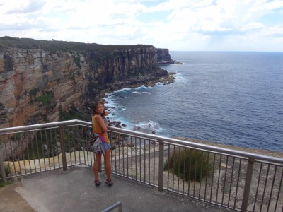 The cliffs at North Head.