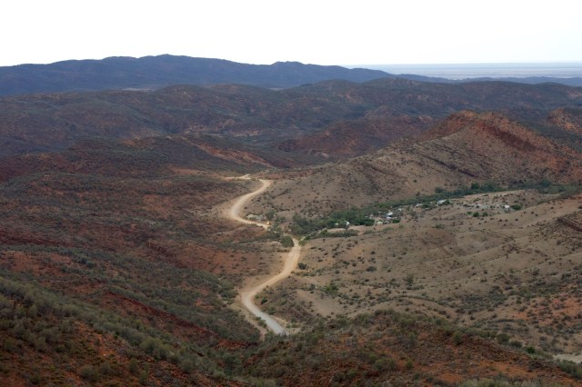 The view around Arkaroola.
