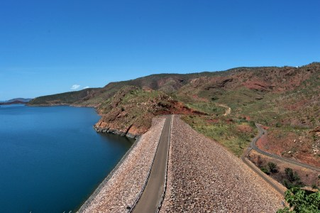 The Ord River Dam.