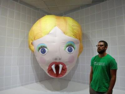Modern art, Chris's favourite.
