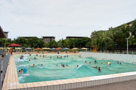 The Wave Lagoon.