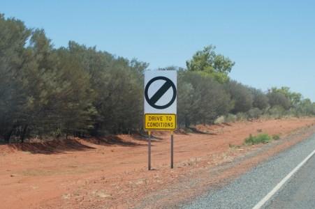 Open speed zone!