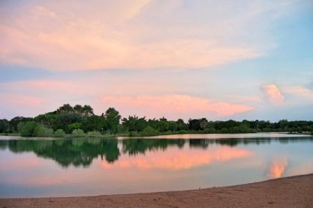 Lake Alexander.