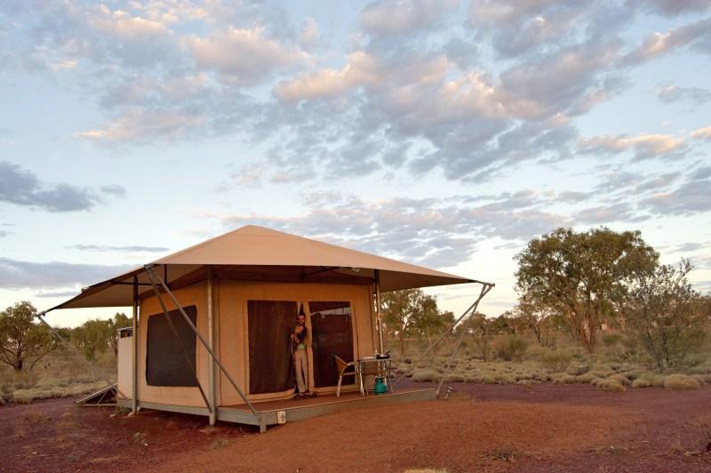 Our safari tent!