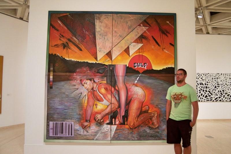 Chris vs. Modern Art.