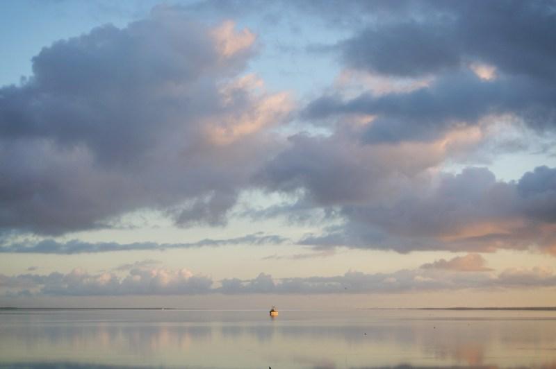 Sunrise over Streaky Bay.