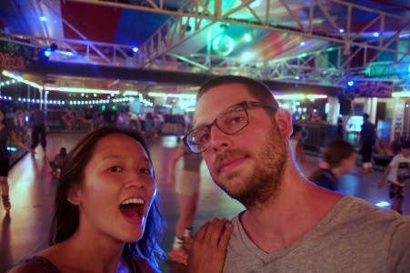 Roller rink selfie!